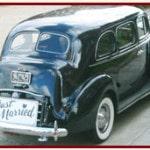 Austin Antique Car Rental Service prom