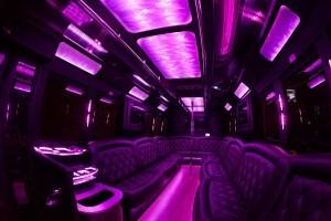 Party Bus Rental Service 25 Person Austin charter