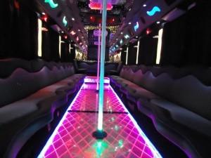 Party Bus Rental Service 45 Person Austin tours
