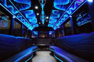 Party Bus Rental Service 50 Person Austin Limo Bus