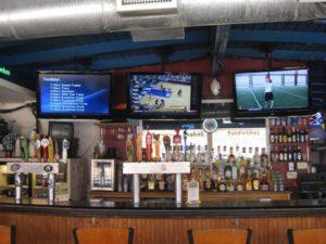 Austin bar & volleyball